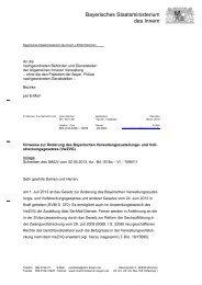 Hinweise zur Änderung des VwZVG - kassenverwalter.de