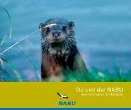 Du und der NABU - ROTER FADEN-PR