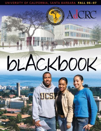 AdCRC 2006-2007 bLACK bOOK - UCSB Division of Student Affairs ...
