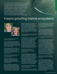 Future-proofing marine ecosystems - meece