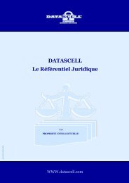 DATASCELL Le Référentiel Juridique - Webagoo.eu