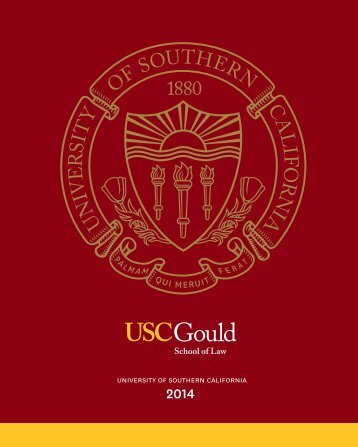 Download Viewbook - USC Gould School of Law - University of ...