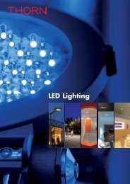 Download LED Lighting Brochure - THORN Lighting