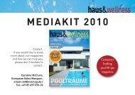 mediakit 2010 - BT Verlag GmbH