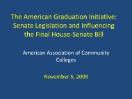 agiwebinar2 - American Association of Community Colleges