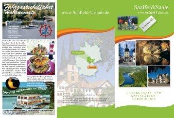 Fahrgastschiffahrt Hohenwarte - Hotels in Saalfeld