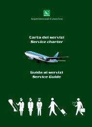 Carta dei servizi Service charter - Aeroporto di Lamezia Terme