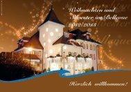 Weihnachten und Silvester im Bellevue - Hotel Bellevue Sursee