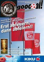 Pokalfinale FC Steißlingen: RWS - beim FC Rot-Weiß Salem!
