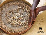 L'année en revue 2011 - Partnership Africa Canada
