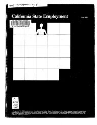 California State Employment