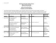2004 Resume Accept Schedule 7.8.04 - Syracuse University ...