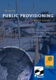 Brazil – the case for public provisioning in Porto Alegre - WaterAid