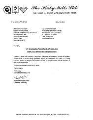 Shareholding Pattern - 30.6.2011.pdf - Ruby Mills Ltd.