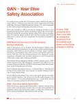Report on Decompression Illness, Diving Fatalities and Project Dive - Page 6