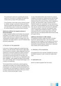 Guarantee conditions - Page 3