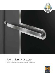 Katalog Aluminium-Haustüren - Hormann