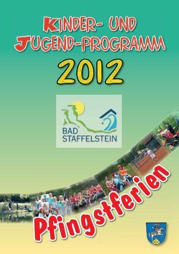 F-Programm 2012.indd - Raiffeisen-Volksbank Bad Staffelstein eG