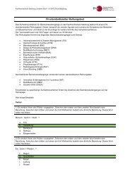 Factsheet standardisierter Reihungstest - Fachhochschule Salzburg