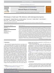 Performance of mid-wave T2SL detectors with heterojunction barriers
