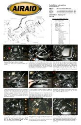 Installation Instructions Part Number 450-264 2011-14 Ford ... - Airaid