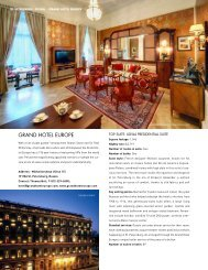 Grand Hotel Europe Special Section - Elite Traveler
