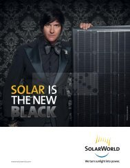 After all, solar is our future. - BlueLinx