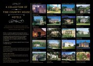 a collection of fine country house hotels - Christie + Co Corporate