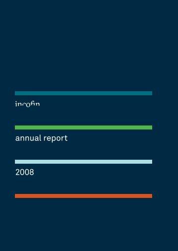 annual report 2008 - Incofin