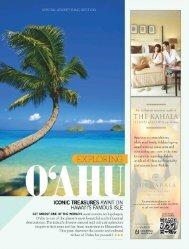 Exploring O'ahu - Travel + Leisure