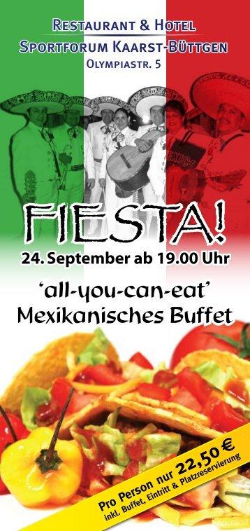 FIESTA! - Restaurant & Hotel Sportforum Kaarst Büttgen