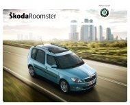 Каталог Roomster.pdf - Skoda Auto