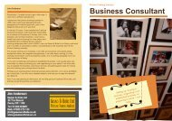Business Consultant - Lion Picture Framing Supplies Ltd