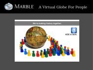 A Virtual Globe For People - So.Di.Linux