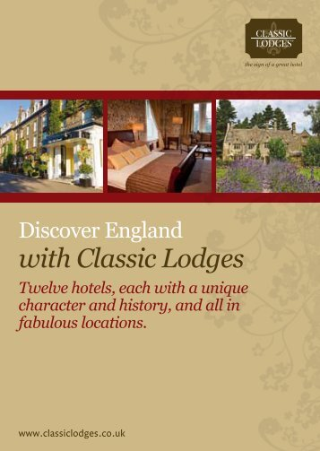 with Classic Lodges