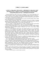 13/2001. (V. 9.) KöM rendelet a védett és a fokozottan ... - Natura 2000