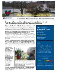 Ohio's Emergency Management News - Ohio Emergency ...