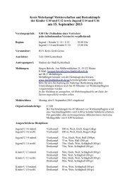 Mehrkampfmeisterschaften Kinder U10-U12 und Jugend U14-U16 ...