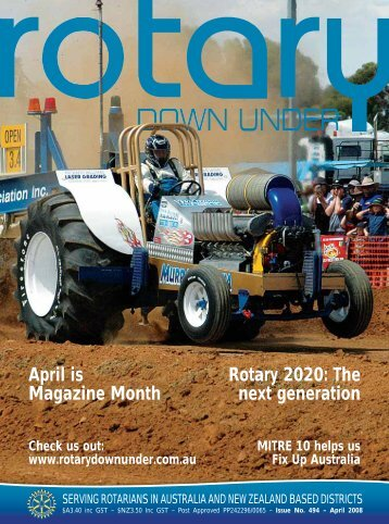 April is Magazine Month Rotary 2020: The next generation