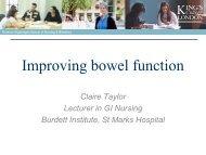 Bowel Management after Rectal Cancer Treatment - Beating Bowel ...