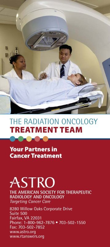 The Radiation Oncology Treatment Team - Baystate Health