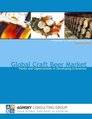 Global Craft Beer Market - Russia Blog