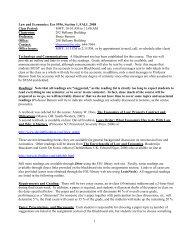 Eco 5936, Section 1, FALL - Mailer Fsu - Florida State University