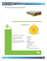 HP Universal High Gloss Photo Paper - LexJet