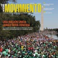 UNA NACIÓN UNIDA JAMÁS SERÁ VENCIDA - AFSCME