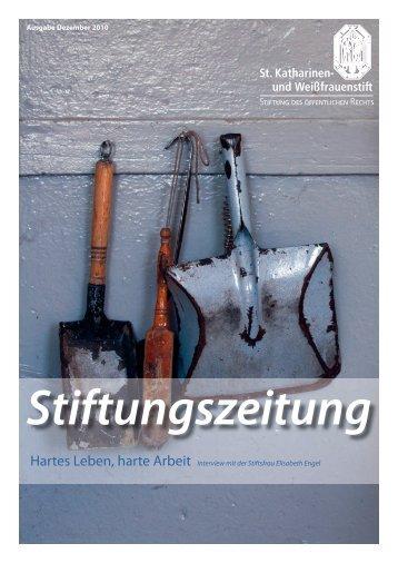 Stiftungszeitung - Ronald Wissler | Visuelle Kommunikation