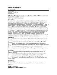 friday, november 25 - Association for Behavior Analysis International