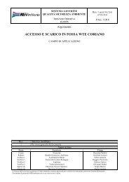 ACCESSO E SCARICO IN FOSSA WTE CORIANO - Herambiente