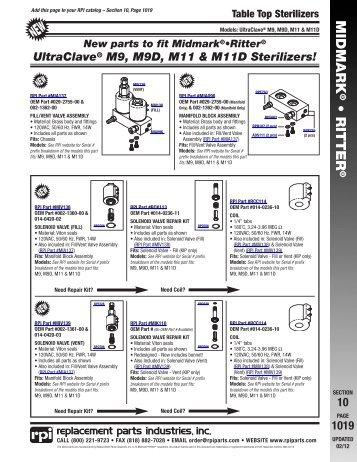 Ritter By Midmark M7 Speedclave Manual Medsupplier Com