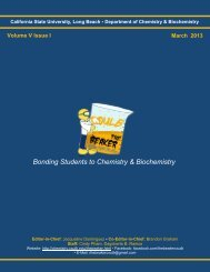 Volume 5, Issue 1 [March 2013 pdf] - California State University ...